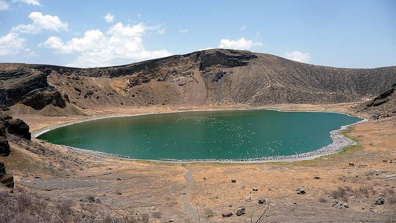 Flamingo Lake - Central Island Lake Turkana
