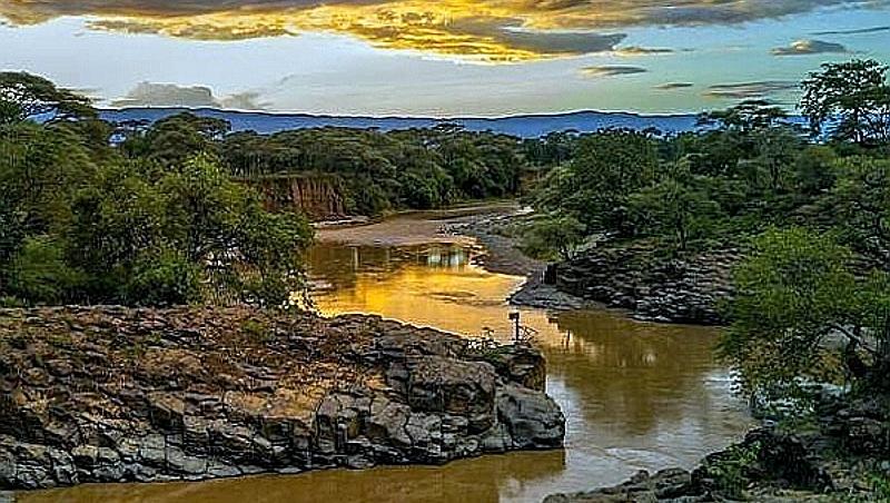 Kerio River nei pressi di Chebloch Gorge