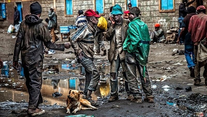 The streets of Nairobi