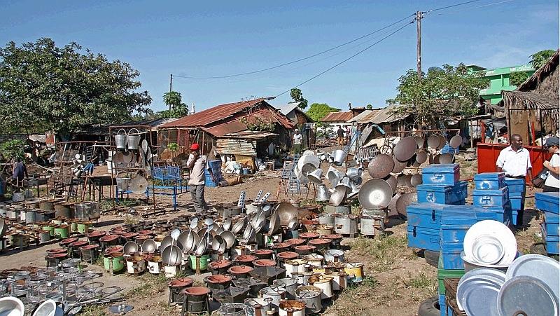 Il mercato a Malindi