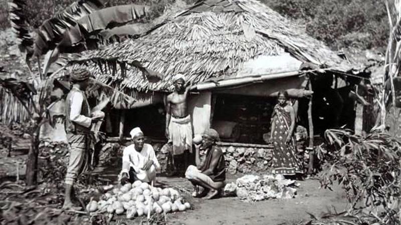 Un piccolo negozio a Changamwe 1890