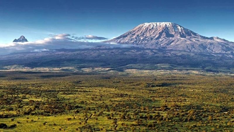 Vista del Kilimanjaro