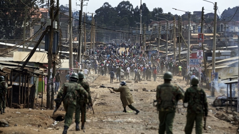 Anche le proteste durante le elezioni presidenziali del 2017, sono degenerate in scontri sanguinosi