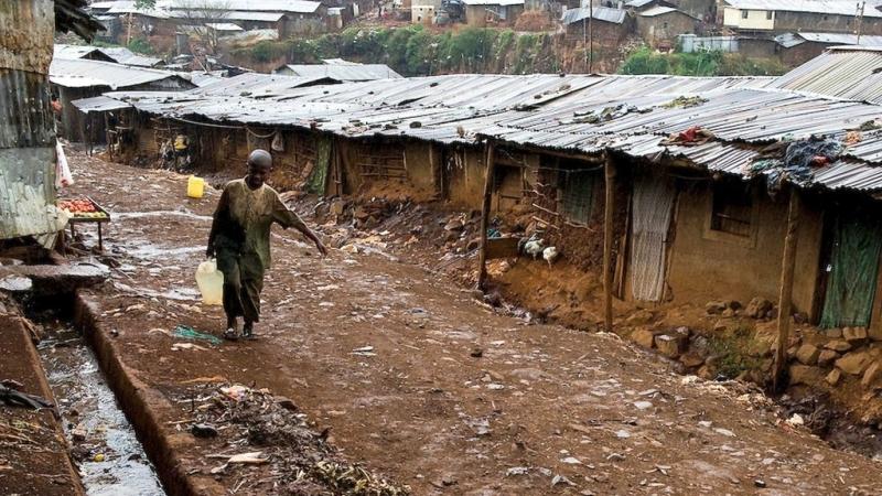 Kibera sobborgo di Nairobi
