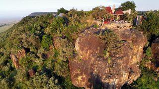 Lodge Angama Mara-Sospeso a mezz'aria sul Masai Mara