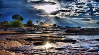 Cascate Lugard-Fiume Galana-Parco Nazionale Tsavo Est