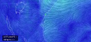 Earth Wind Map-Mappa del vento in tutto il globo