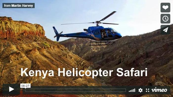 Kenya-Safari fotografico in elicottero