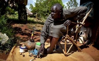 Witchcraft in Kenya-Kenyan witch doctor John Dimo
