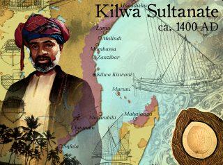 Kilwa Sultanate ca 1400 aD