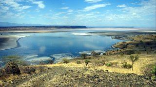 Lago Magadi-Colline vulcaniche nella terra dei Masai