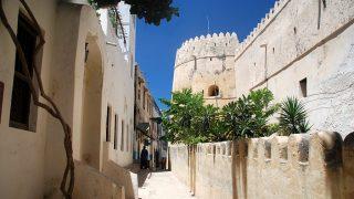 Il forte-Città di Lamu Kenya