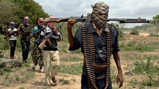 Militants of the Islamist al-Shabaab insurrection group
