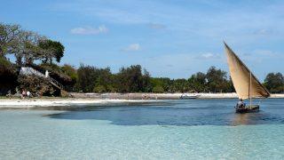 Parco Nazionale marino di Malindi-Sullo sfondo Silversand Beach