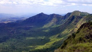 Losiolo Rift Valley Escarpment - The end of the world