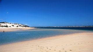 Spiaggia di Shela-Isola di Lamu Kenya
