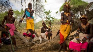 Men of ethnic Samburu