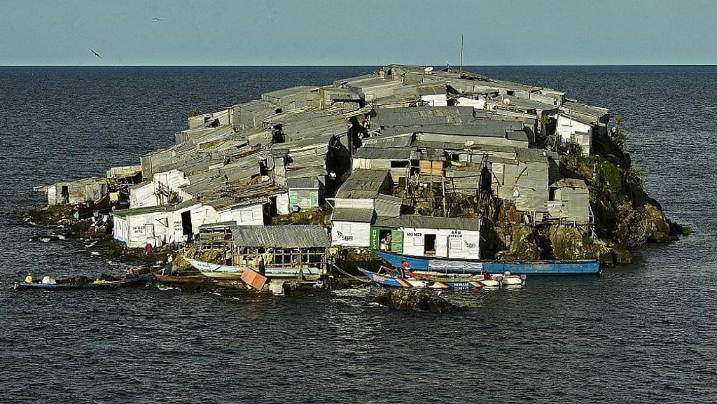 Isola di Migingo-Lago Vittoria Kenya