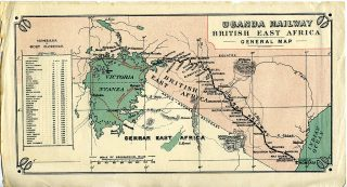 Uganda Railway-British East Africa-General Map