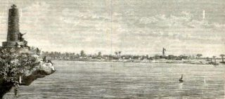 Vasco da Gama Pillar o Cruz Padrão-Malindi 1886