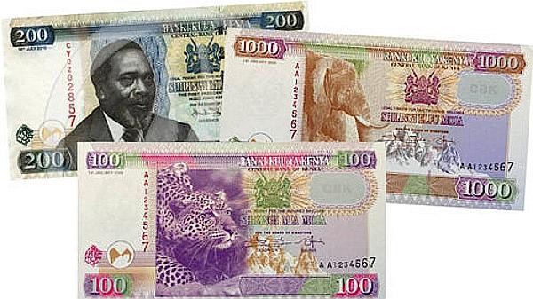 La nuova valuta del Kenya