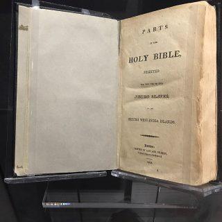 Sacra Bibbia per gli schiavi negri